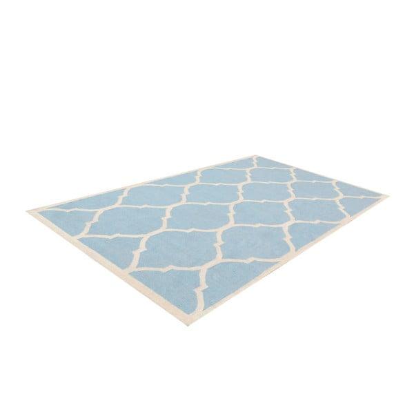 Dywan ręcznie tkany Lara Light Blue, 60x90 cm