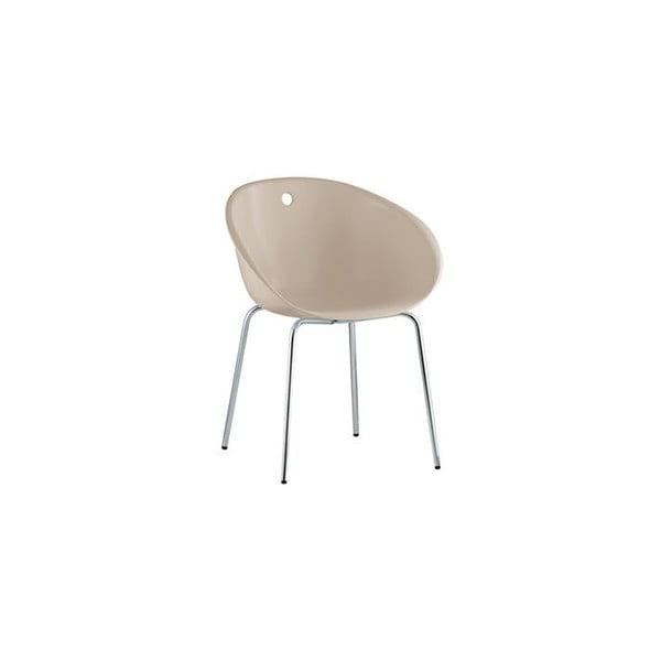 Piaskowe krzesło Pedrali Gliss 900