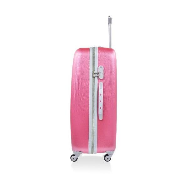 Zestaw 3 walizek podróżnych Hero Pink