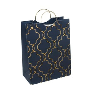 Torba prezentowa Tri-Coastal Design Design Navy Blush, niebieska
