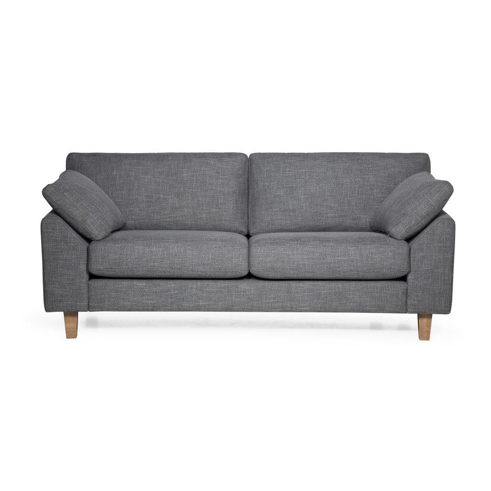 Szara sofa 2-osobowa Scandic Garda
