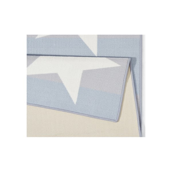 Niebiesko-szary dywan do kuchni Hanse Home Chateau, 67x180 cm