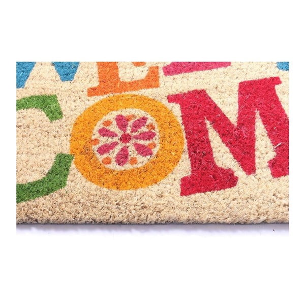 Wycieraczka Welcome Hippie, 40x70 cm