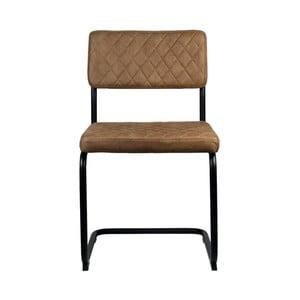 Brązowe krzesło LABEL51 Bow