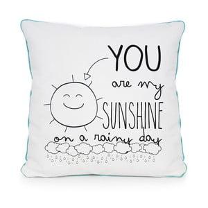 Poduszka Sunshine Rainy, 45x45 cm