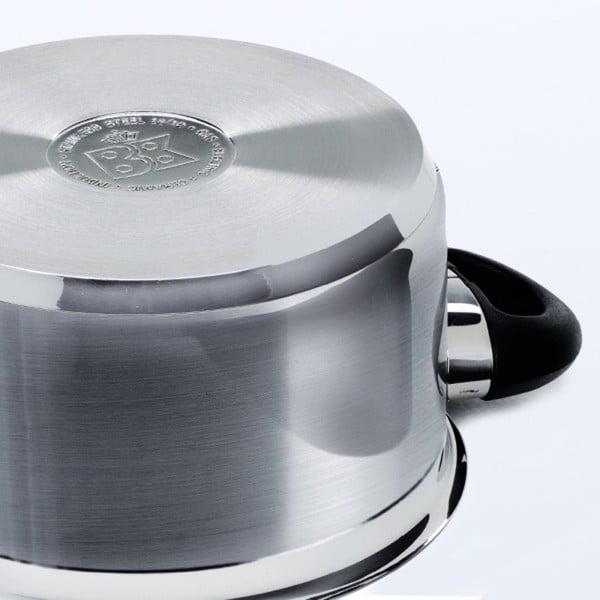 Garnek ze stali nierdzewnej BK Cookware Karaat+, 20cm