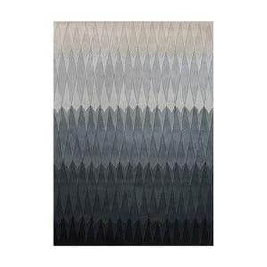 Wełniany dywan Acacia Grey, 140x200 cm