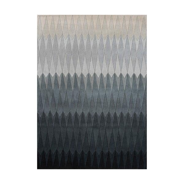 Wełniany dywan Acacia Grey, 200x300 cm