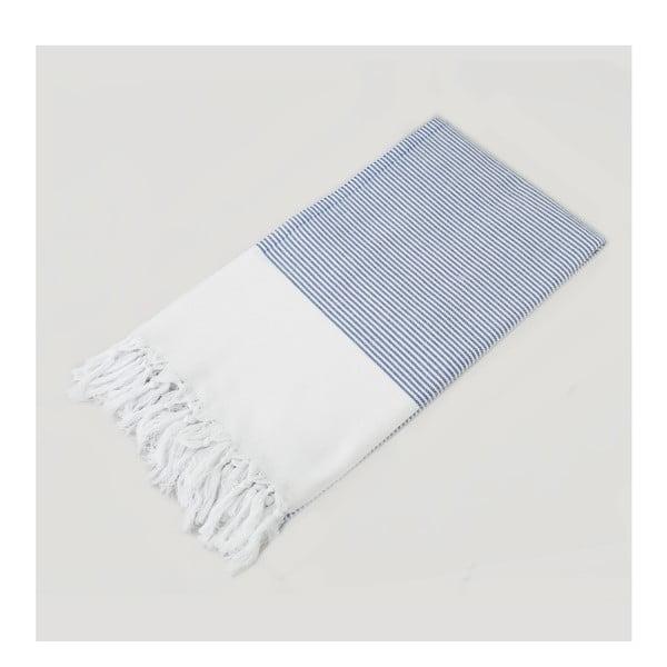 Ręcznik hammam Bath Style Light Blue, 100x180 cm