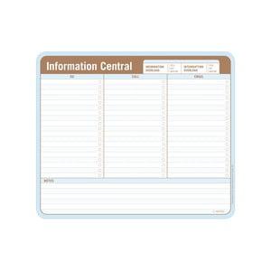 Bloczek do porządkowania zadań Information