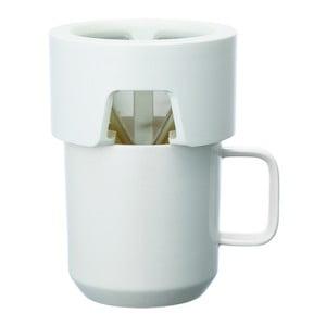 Kubek do parzenia kawy Column, biały