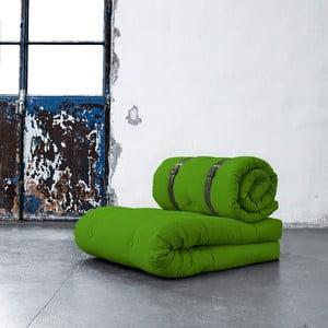 Fotel rozkładany Karup Buckle Up Lime