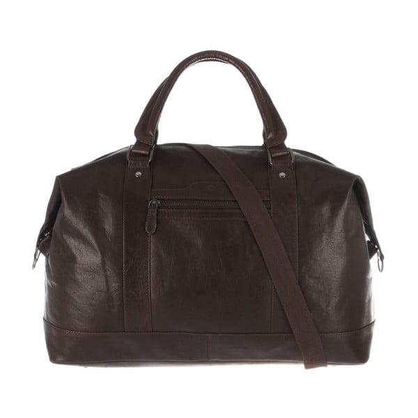 Skórzana torba Monty Dark Brown