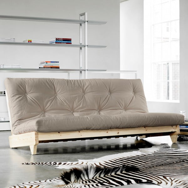 Sofa rozkładana Karup Fresh Natural/Vision