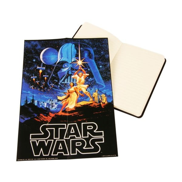 Notes Star Wars, w linie