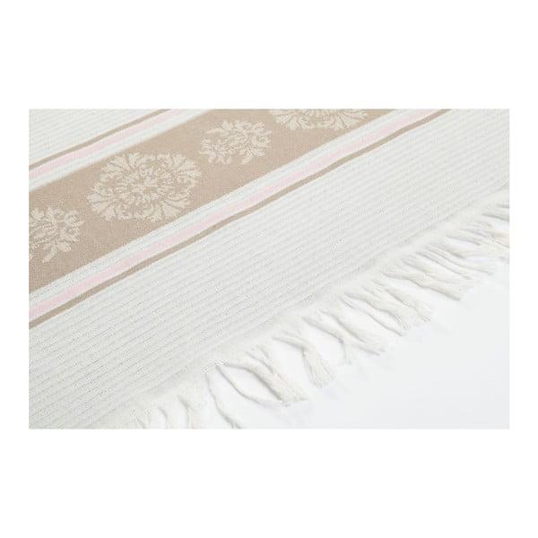 Ręcznik hammam Loincloth Beige Stripe, 80x170 cm
