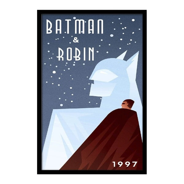 Plakat Batman & Robin, 35x30 cm