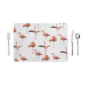 Mata kuchenna Home de Bleu Mooving Flamingo, 35x49cm