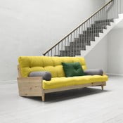 Sofa rozkładana Karup Indie Clear Lacquered/Pistacio/Gris