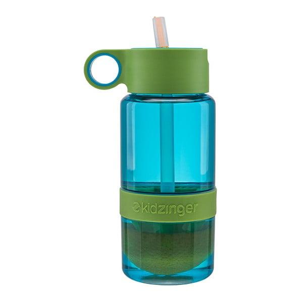 Dziecięca butelka na wodę i owoce KidZinger