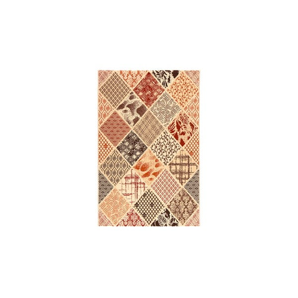 Dywan wełniany Coimbra no. 183, 140x200 cm, ochrowy