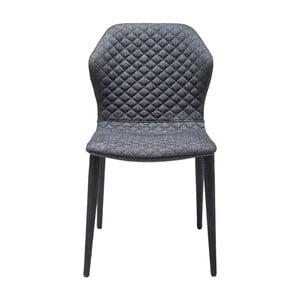 Ciemnoszare krzesło Kare Design Atlantis