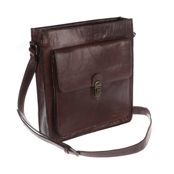 Męska torba skórzana Brook Extra Large Cross-Body Travel Bag