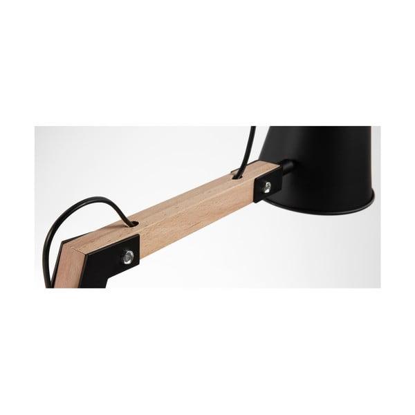 Czarna lampa stołowa La Forma Andra