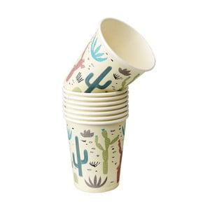 Zestaw 8 kubków papierowych Rex London Desert In Bloom