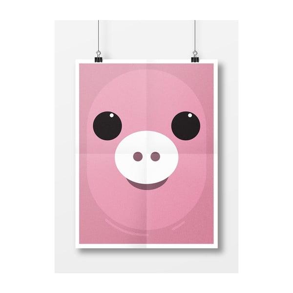 Plakat Świnka, A4
