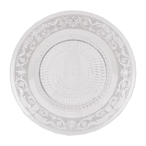 Szklany talerz Clayre Eef, 20 cm