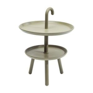 Zielony stolik ogrodowy Kare Design Jacky