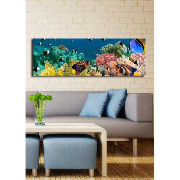 Podświetlany obraz Under the Sea, 30x90 cm