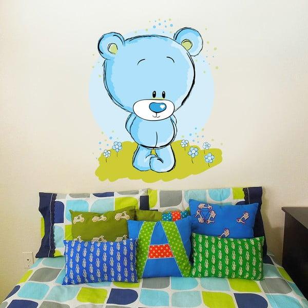 Naklejka na ścianę Słodki niedźwiadek , 50x70 cm