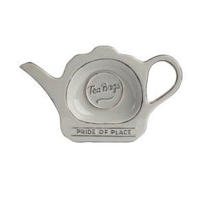 Szary spodek ceramiczny na torebki po herbacie Pride of Place