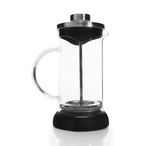 French Press z czarnymi detalami, 350 ml
