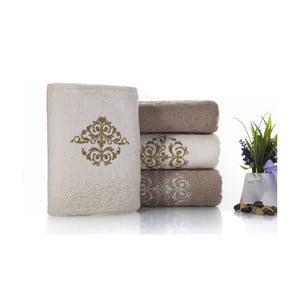 Zestaw 4 ręczników Crown V2, 50x100 cm + 70x150 cm