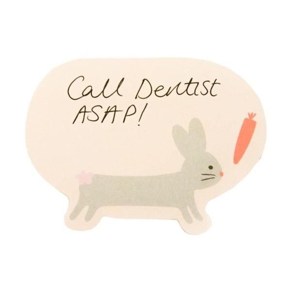 Karteczki   samoprzylepne Busy B Bunny