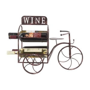 Stojak na wino Metal Bicycle