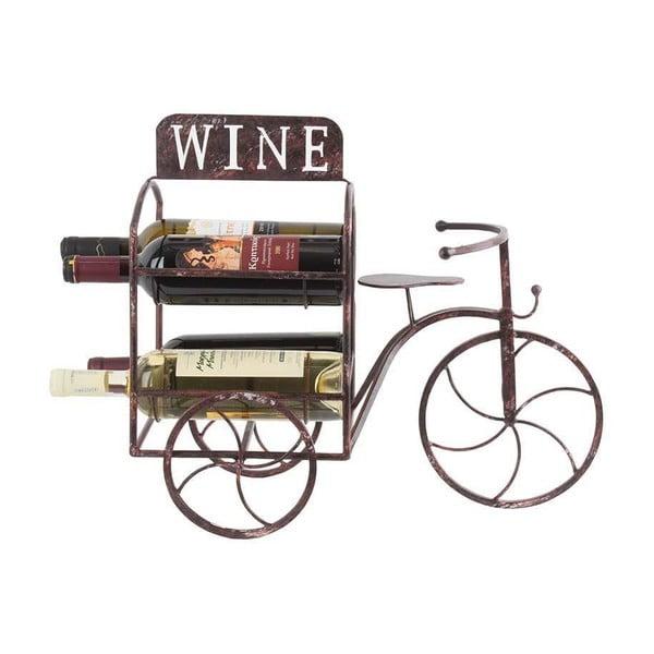 Stojak na wino Metal Bicycle