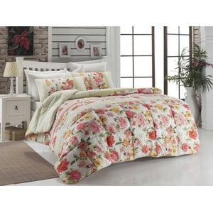 Narzuta pikowana na łóżko dwuosobowe Lena, 195x215 cm