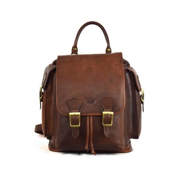 Skórzany plecak Santo Croce 8800 Dark Brown