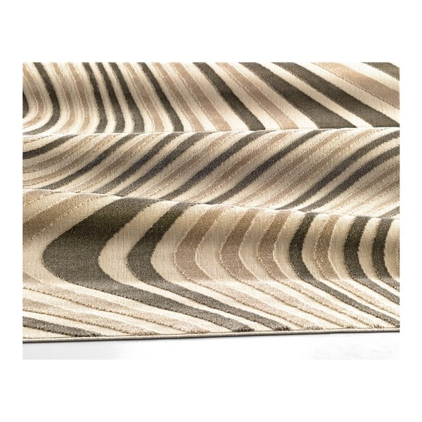 Dywan Webtappeti Reflex Brown Stripes, 80x150 cm