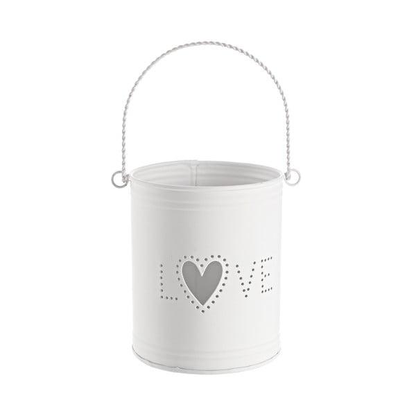 Lampion Love, biały
