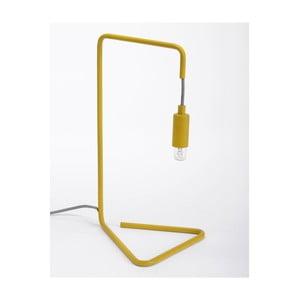Lampa stołowa Bureau Lampe, żółta