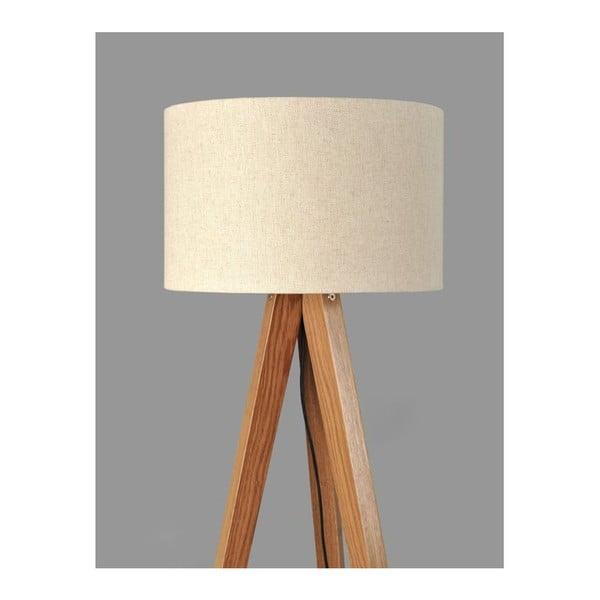 Lampa stojąca Tripod White/Walnut
