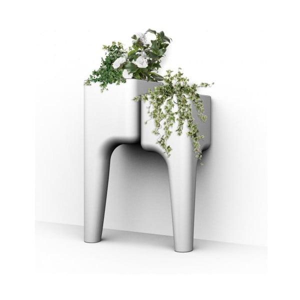 Designerska doniczka KIGA Small 88x34 cm, biała