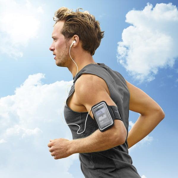 Sportowa opaska na ramię, neopreonowa Celly XXL, czarna