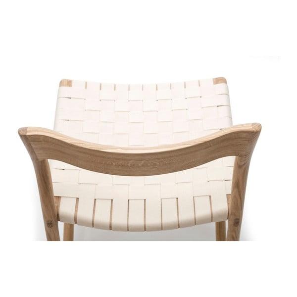 Krzesło Fawn Natural Gazzda, białe