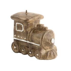 Ozdobna świeca w kształcie lokomotywy Ego Dekor